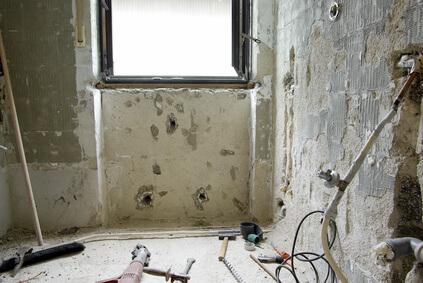Renovierung, Baustelle